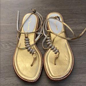 Nina Grecian sandals